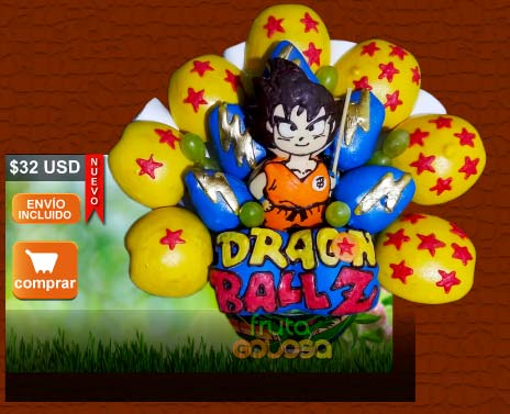 Arreglo Frutal Dragon Ball